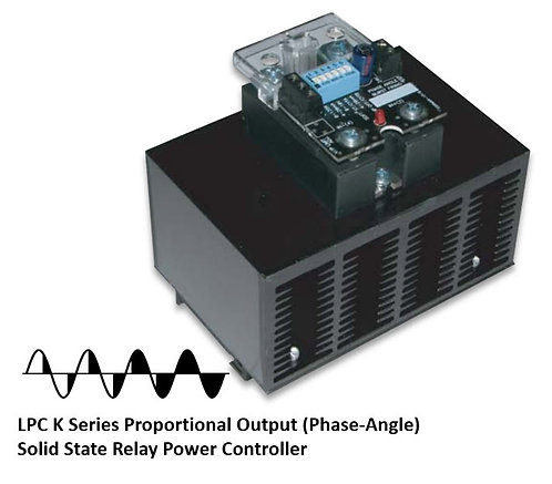 LPC-125HDXK 70 Amp / 48-530Vac Phase-Angle Solid State Power Controller