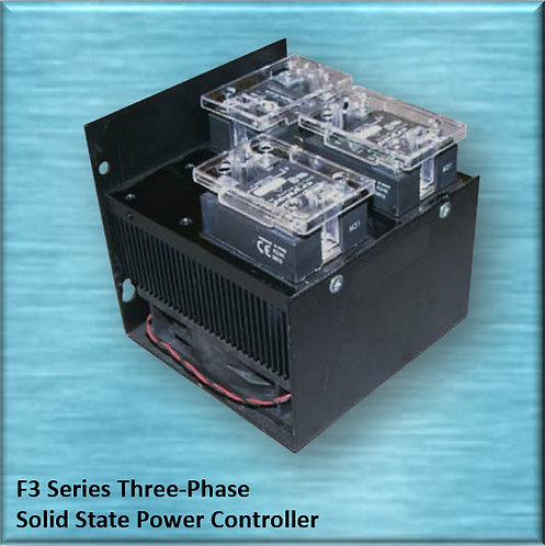HBC-125DF3 100 Amp / 480Vac Three-Phase Solid State Relay Power Controller