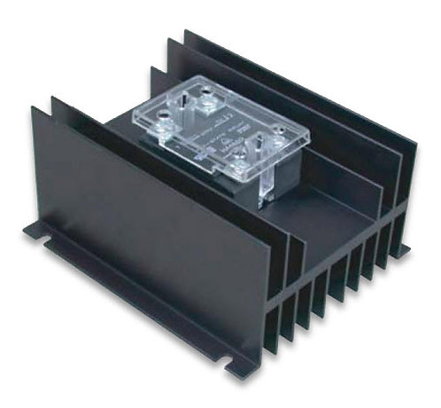 HBC-50AN, AC Input, 45 Amp / 24-280Vac Solid State Relay Assembly