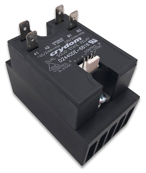 Turbochef 101286 / ENC-1788 (HBC-410-P) Dual Solid State Relay Assembly