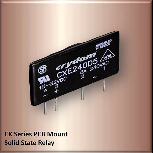 Crydom CXE240D5 5 Amp / 240Vac PCB Mount Solid State Relay