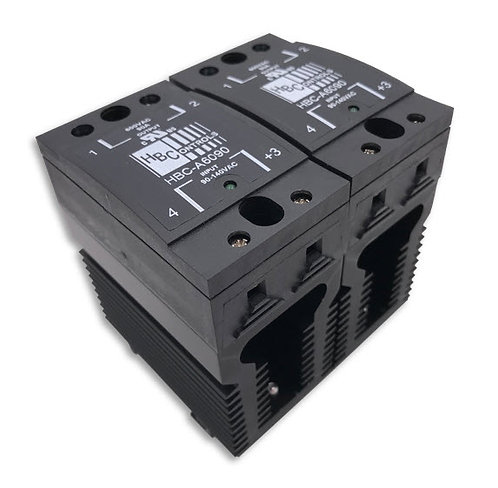 HBC-690CHDA-2 40 Amp / 48-660Vac Two-Pole Stripwire Solid State Relay
