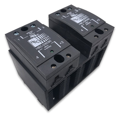HBC-690CHDK-2 40 Amp / 48-660Vac Two-Pole Stripwire Solid State Relay Assembly