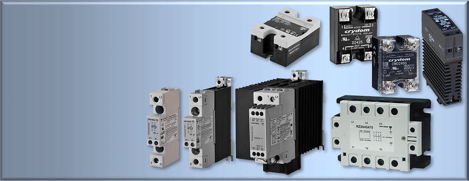 Carlo Gavazzi and Crydom Solid State Relays