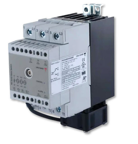 Carlo Gavazzi RGC3A60D40GGEDF 40 Amp, DC Input Three-Phase Solid State Relay
