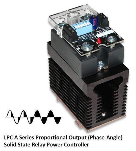 LPC-25DA 20 Amp / 24-280Vac Phase-Angle Solid State Power Controller