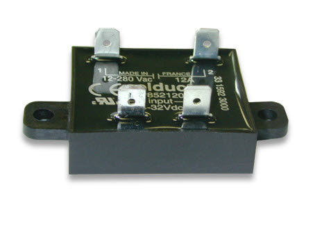 Celduc SP752120 25 Amp / 12-280Vac Miniature Solid State Relay