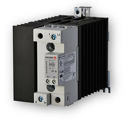 Carlo Gavazzi RGC1A60A62KGE 70mm, 65 Amp, AC Input DIN Mount Solid State Relay