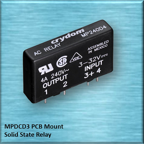 Crydom MPDCD3 3 Amp / 60Vdc PCB Mount Solid State Relay