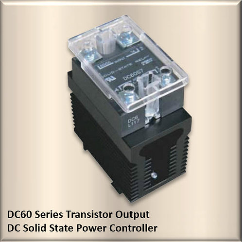 HBC-DC60A7A 7 Amp / 60Vdc, AC Input Solid State Relay Power Controller