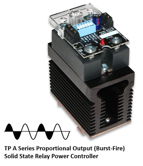 TP-25DA 20 Amp / 24-280Vac Burst Fire Solid State Power Controller