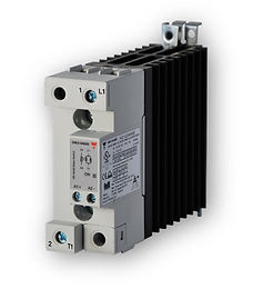 Carlo Gavazzi RGC1A60A42KGE 35mm, 43 Amp, AC Input DIN Mount Solid State Relay