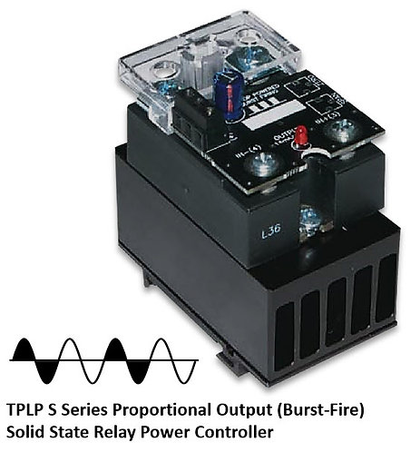 TPLP-25DS 15 Amp / 24-280Vac Burst Fire Solid State Power Controller