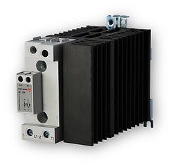 Carlo Gavazzi RGC1A60A62KGU 70mm, 65 Amp, AC Input DIN Mount Solid State