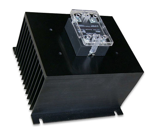 HBC-90HDG, DC Input, 80 Amp / 48-530Vac Solid State Relay Assembly