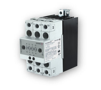 Carlo Gavazzi RGC2A60D25KGE 25 Amp, DC Input Three-Phase Solid State Relay