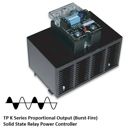 TP-90HDXK 60 Amp / 48-530Vac Burst Fire Solid State Power Controller