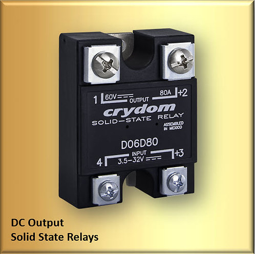 Crydom D2D12 12 Amp / 200Vdc DC Output Solid State Relay