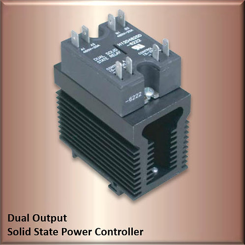 HBC-D40HEA 40 Amp / 480Vac Dual Output Solid State Relay Power Controller