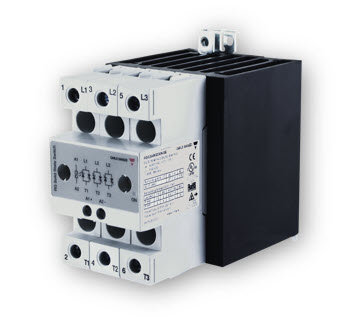 Carlo Gavazzi RGC3A60A30KGE 30 Amp, AC Input Three-Phase Solid State Relay