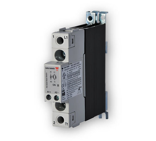 Carlo Gavazzi RGC1A60D25KKE 17.5mm, 25 Amp, DC Input DIN Mount Solid State Relay