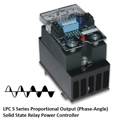 LPC-25DS 15 Amp / 24-280Vac Phase-Angle Solid State Power Controller