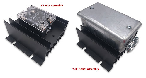HBC-50HAY(-HB) AC Input, 35 Amp / 48-530Vac Solid State Relay Assembly