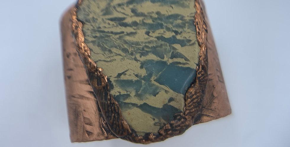 African Opal Cuff