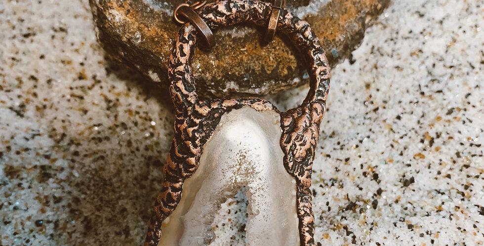 Inner Healing Geode Necklace