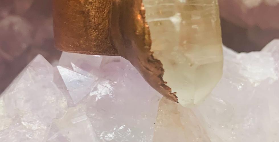 Healing Quartz Ring