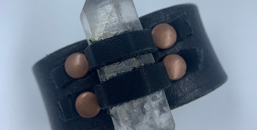 Quartz Crystal Power Cuff
