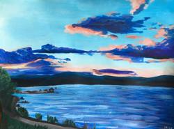 Deep River Sunset