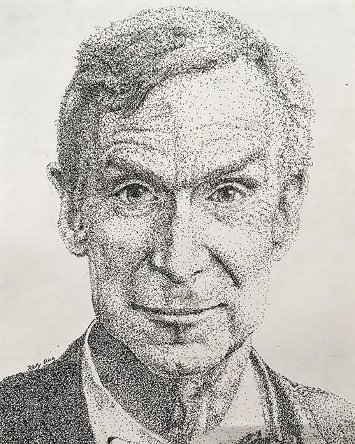 Bill Nye Pointillsm