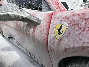 Ferrari Wash by Mindful Mobile Car Detailing San Diego