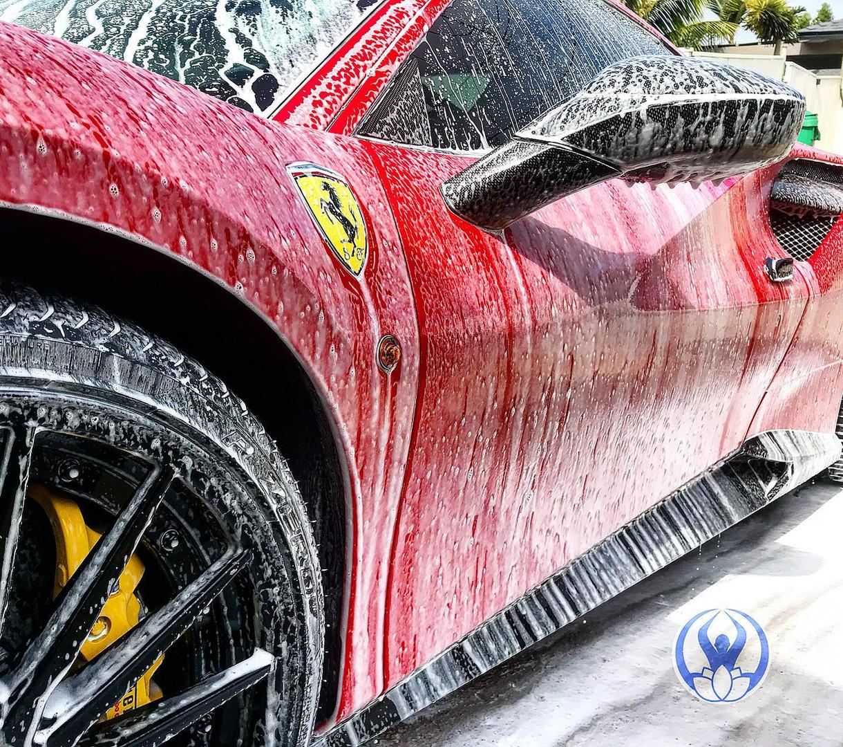 Mindful Mobile Car Detailing | Ferrari Detail