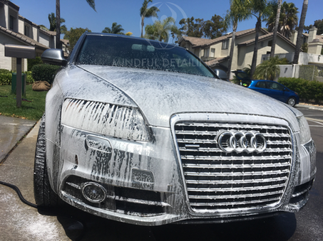 Mindful Detailing Foam Cleaning