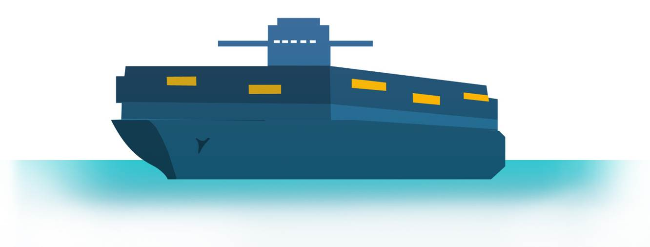 Transport - container ship
