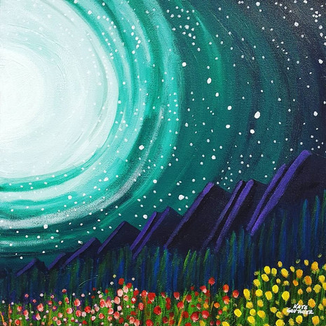 Observations From The Night Garden 2~Sold~