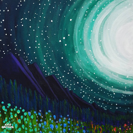 Observations From The Night Garden 1~Sold~