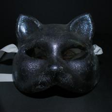 Glitter in Black Cat