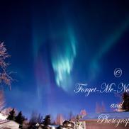 Lighting up the Frosty sky