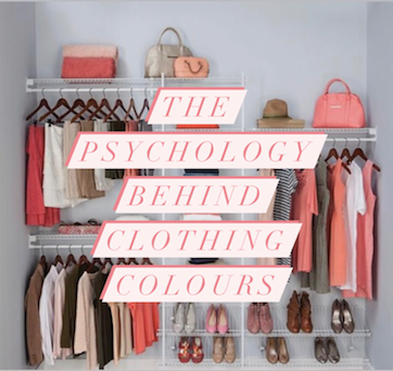 The psychology behind clothing colours