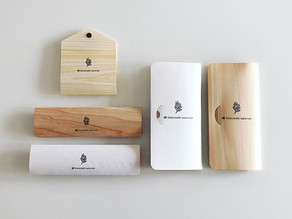 天然ヒノキの抗菌作用と爽やかな香りでリラックス「木の紙」から生まれた「ヒノキのマスクケース」が3つのタイプで新登場!