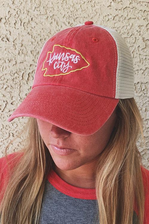Arrowhead KC Trucker Hat
