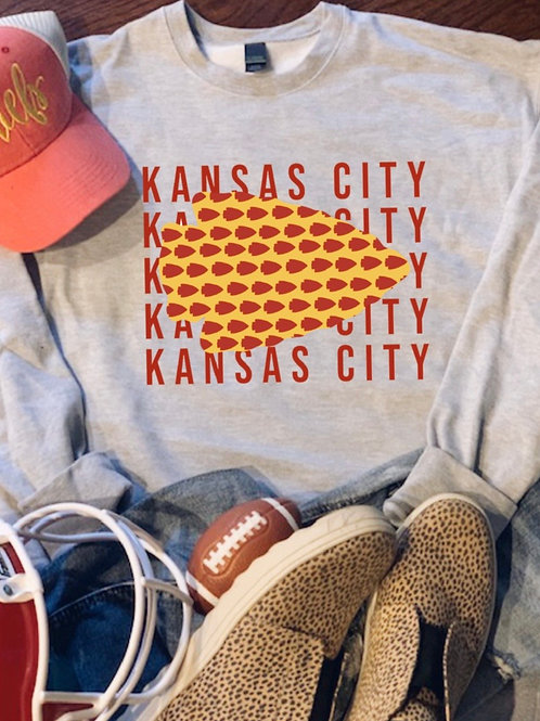 KC Arrowhead Sweatshirt
