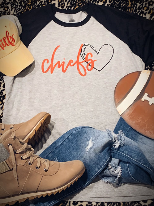 Chiefs Heart Tee