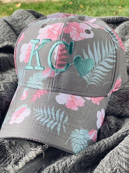 Floral KC Hat