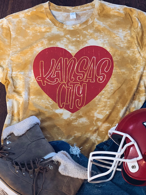 Kansas City Distressed Heart