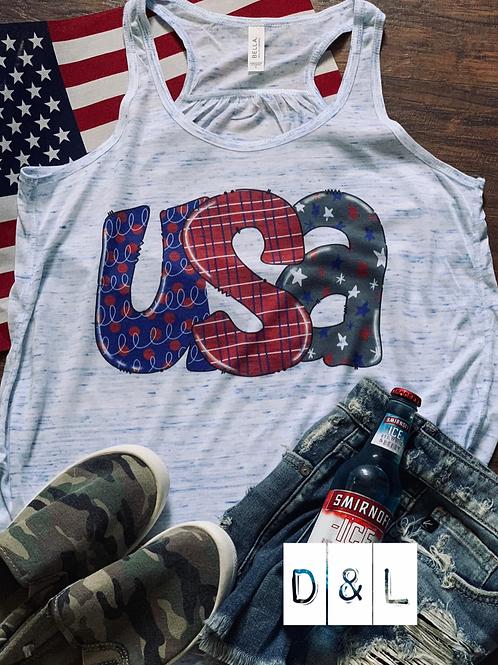 USA Doodle Tank