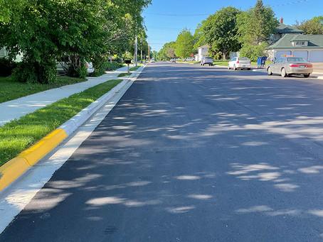 City Street Upgrades Looking Good